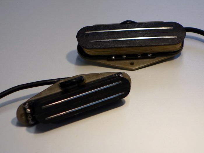 Ray Gerold Bourbon TN Deluxe 2 Pickups im Set Tele Style Mini Klingen-Humbucker (inkl. Mini Switch Humbucker - noisless SC) Preis 494,- EUR inkl. Mwst zzgl. Versand